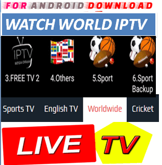 FOR ANDROID DOWNLOAD: Android MegaLIVETV Pro Apk -Update Android Apk