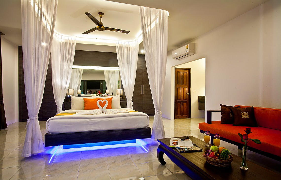 Romantic bedroom design and ideas for couples dashingamrit for Bedroom decorating ideas for couples