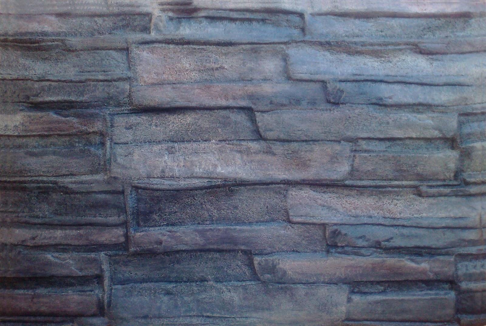 Pinturas en general y tallados con texturas de piedra - Piedra de pizarra ...