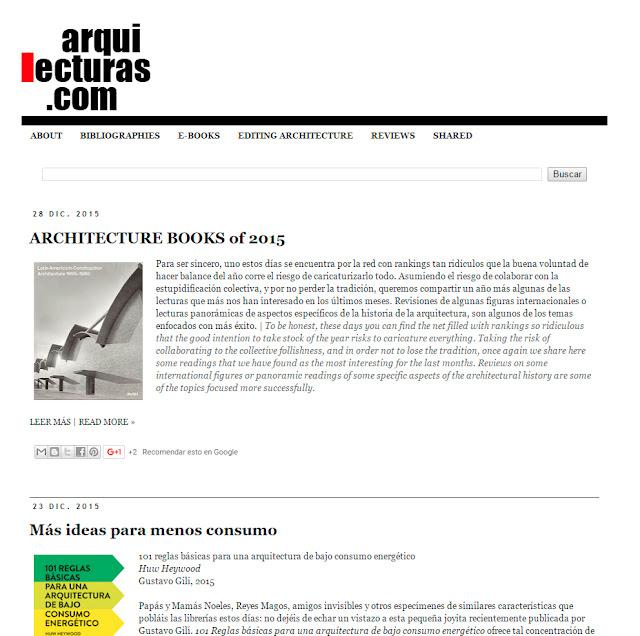 entrevista a David H Falagán de Arquilecturas blog de arquitectura