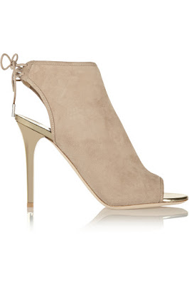 Jimmy Choo nude high heeled stilettos