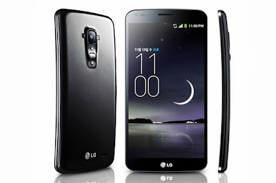 LG G Flex and iPhone 6