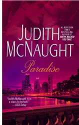 Book cover of Paradise by Judith McNaught (contemporary romance novel set in Chicago)