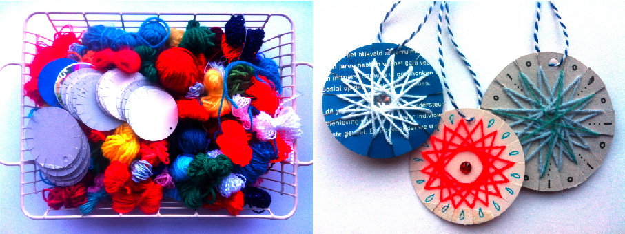 Christmas crafts to make and sell wrapping the yarn is simple