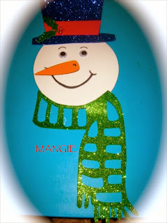 Muñeco nieve calendario