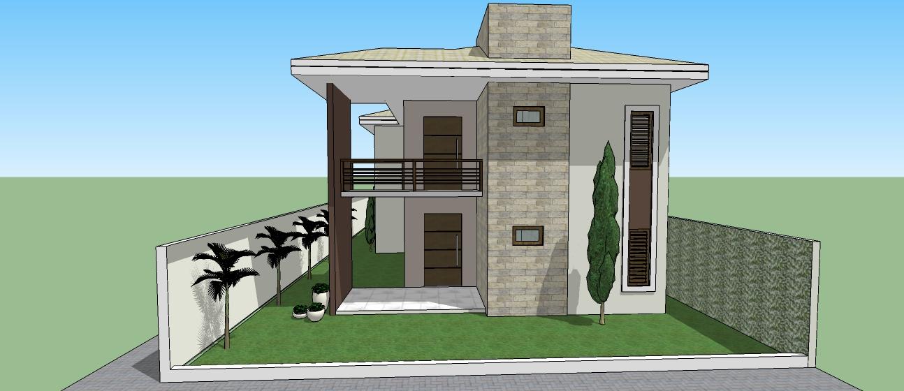 Rodrigo nogueira julho 2012 for Casas duplex modernas