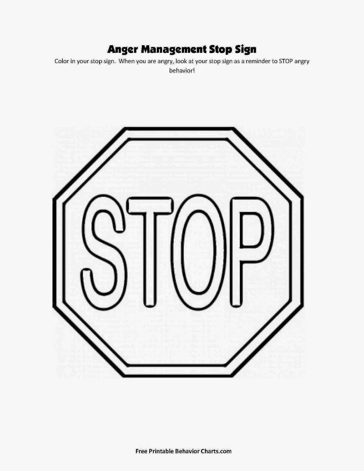 gingerbread man coloring page 100 directions - Stop Sign Coloring Page Printable