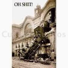 Tren de vapor.