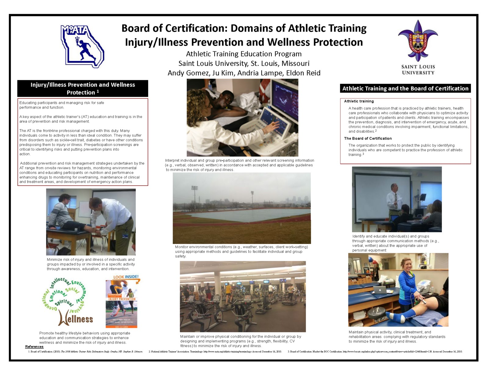 Saint louis university athletic training program march 2013 march 12 2013 1betcityfo Choice Image