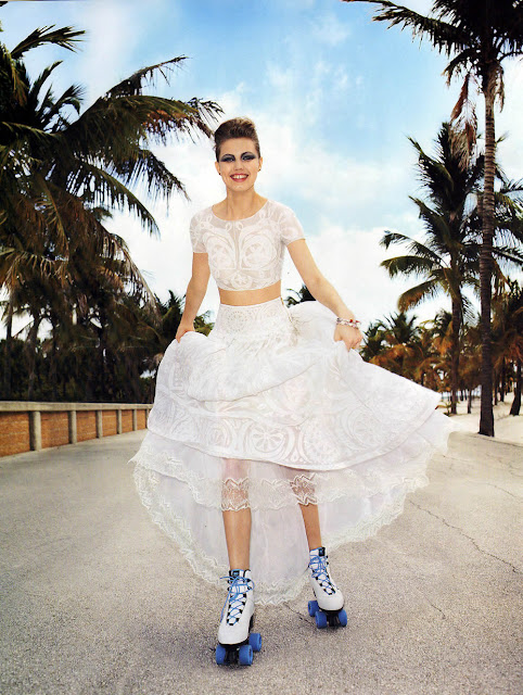 Harper's Bazaar Russia, editorial, Terry Richardson, Lindsey Wixson