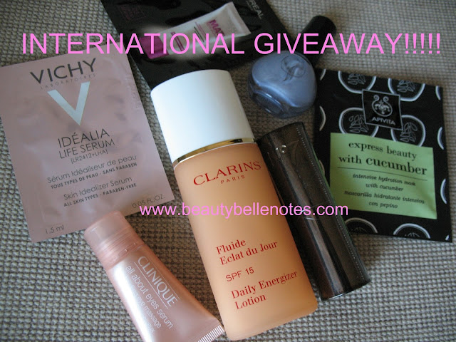 International giveaway - 1st blog anniversary