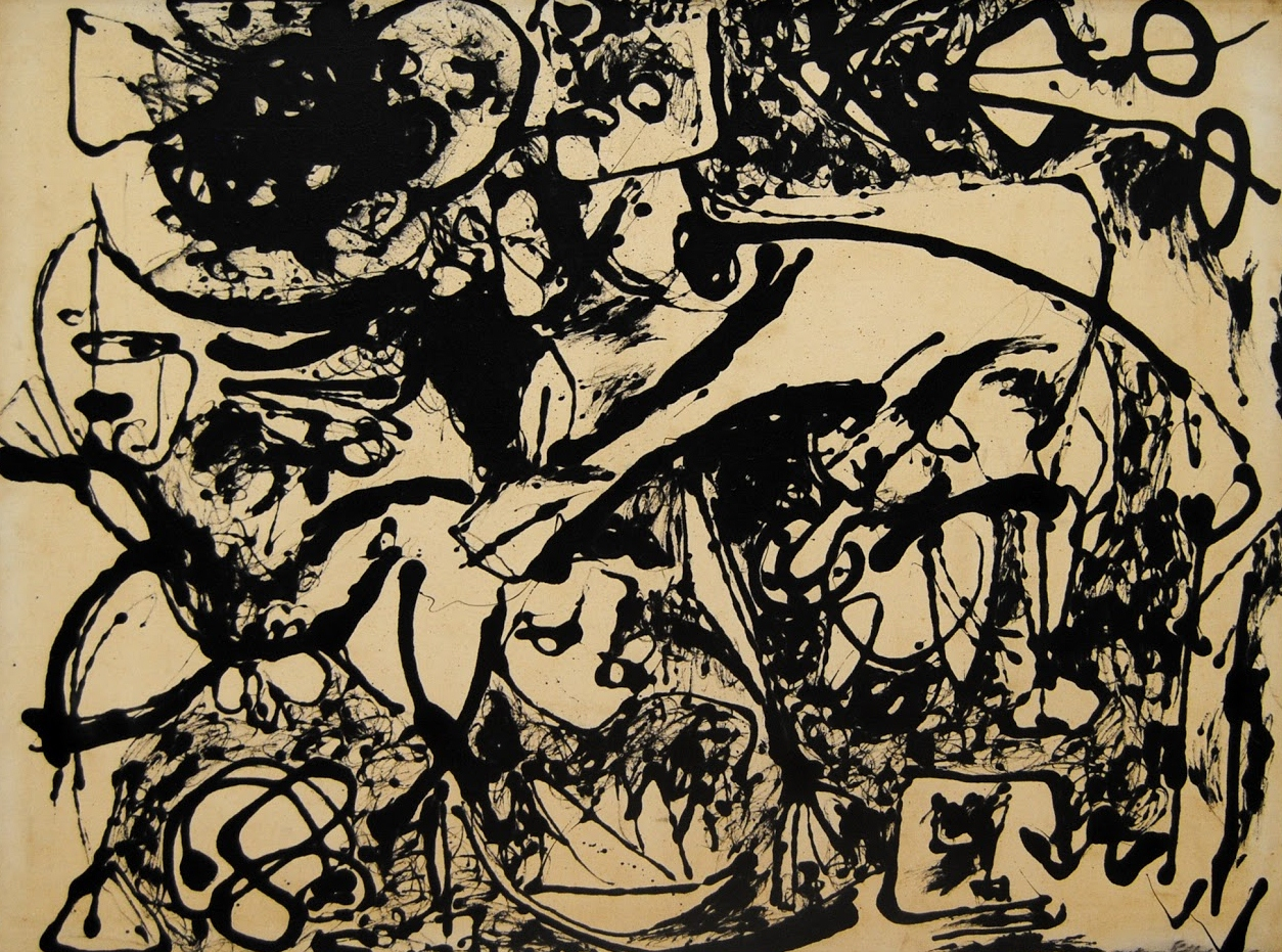 Who Named Jack Pollock S Paintings