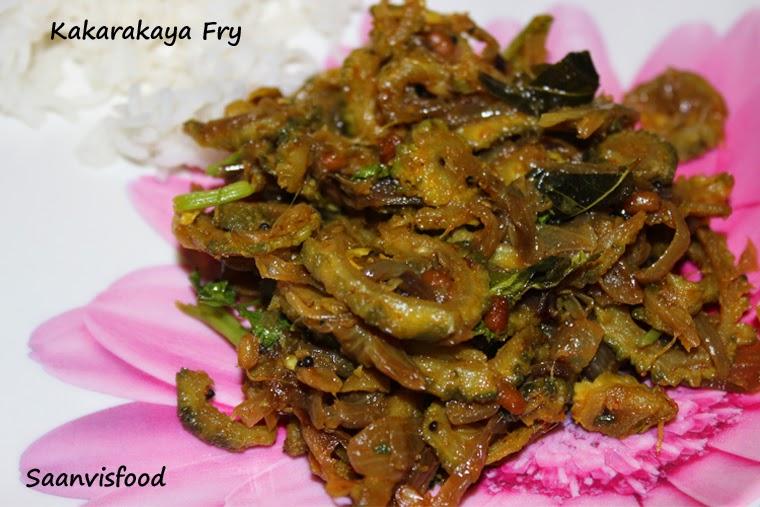 Kakarakaya Fry/Bitter gourd Fry