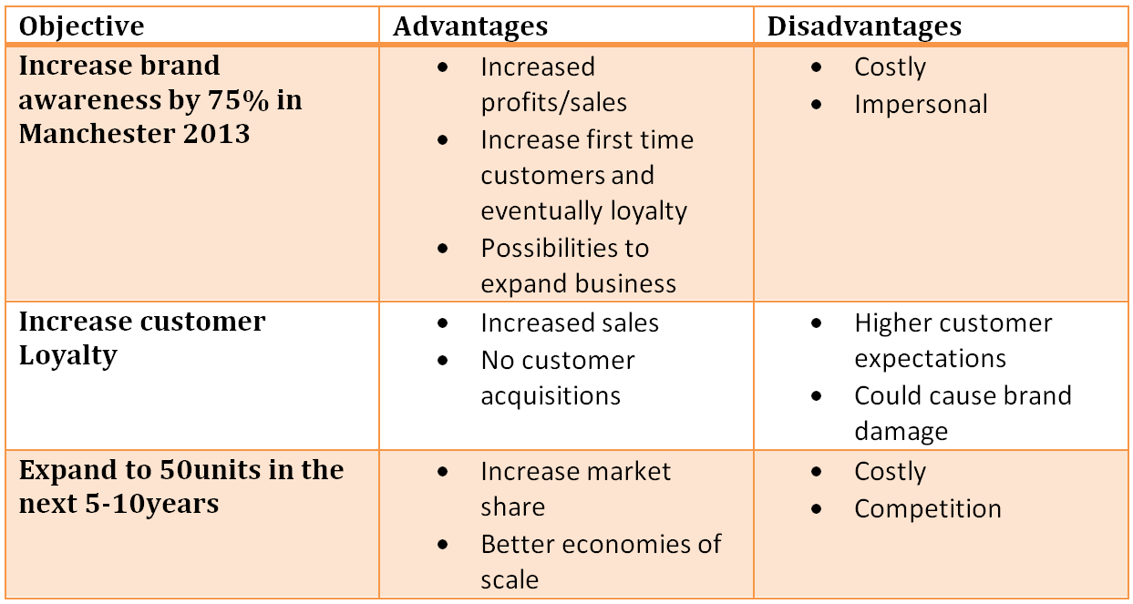 what is business objectives pdf
