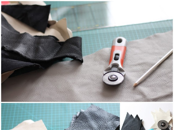 DIY Cuscino di Pelle / DIY Leather Pillow