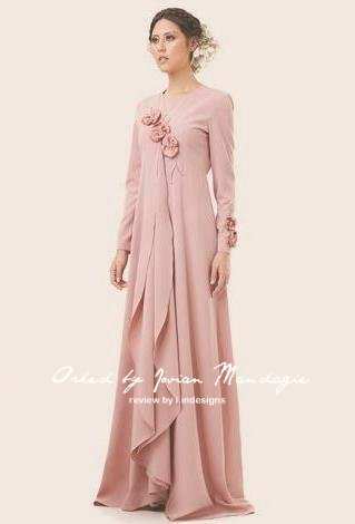 Design Baju Raya Orked by Jovian Mandagie at Tesco Apparel - Irsah ...
