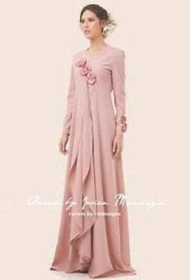 kaftan design baju raya muslimah jovian