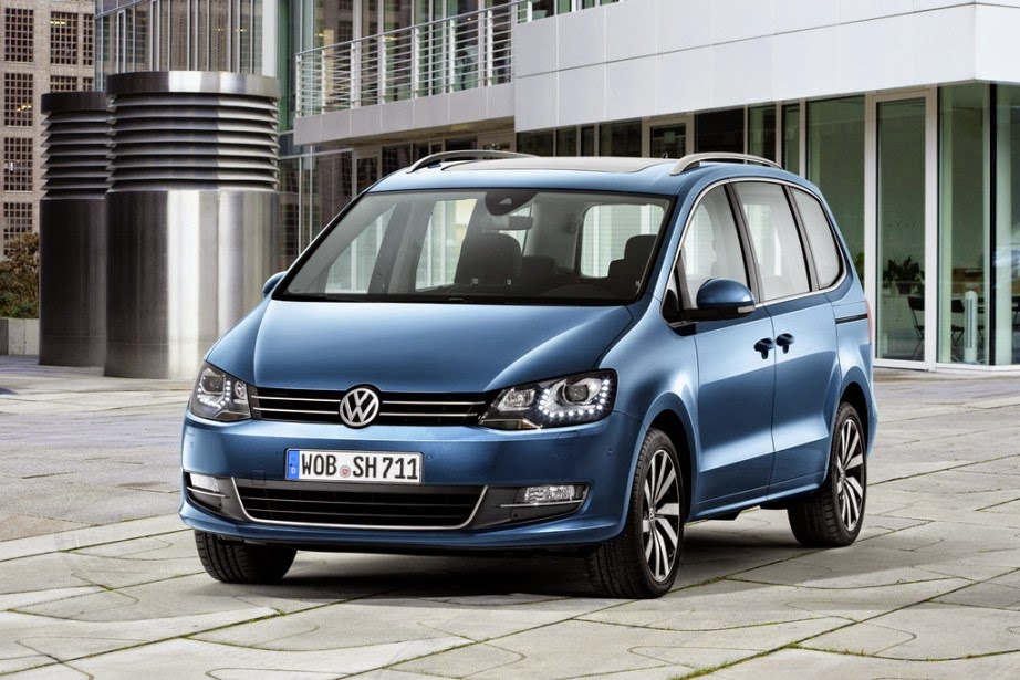 geneva 2015 2016 volkswagen sharan shows garage car