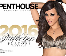 Gatas QB - Penthouse USA Official 2016 Calendar