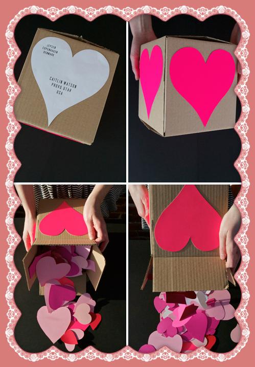 HEART BOX DIY VALENTINE´S GIFT / CAJA DE CORAZONES PARA REGALAR EN SAN VALENTÍN