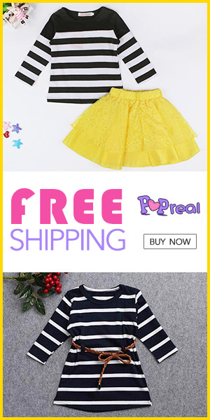 Popreal Toddler Dress Sales