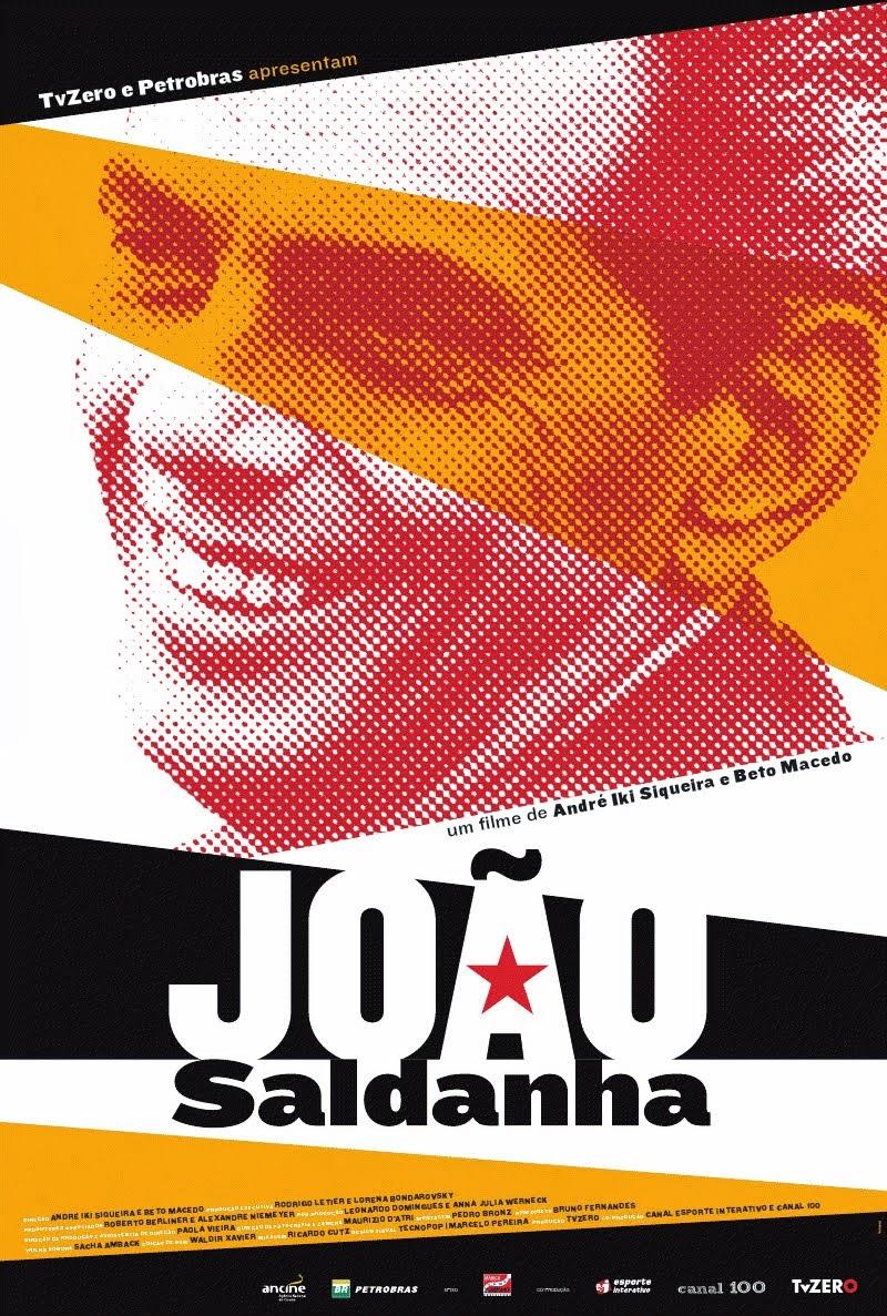 João Saldanha - o filme.   [Arte:Tecnopop]