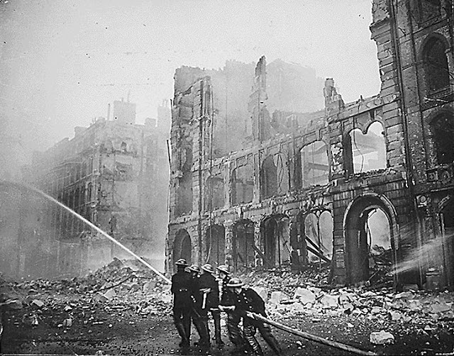 Blitz, London, World War 2