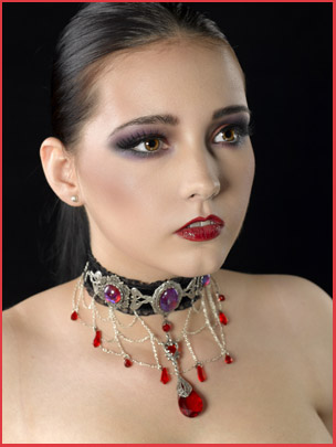 Bijoux A mon seul desir / Alain Naim Photographe / Modele Jennifer Groët/ Maquillage Dita MakeUp