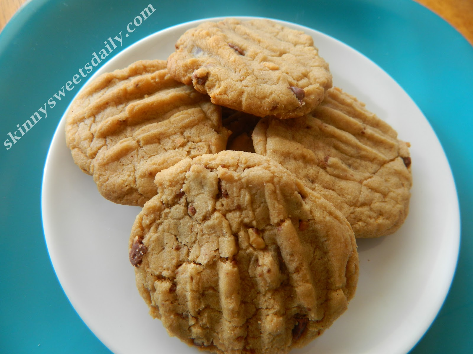 Best Low Fat Peanut Butter Cookies!