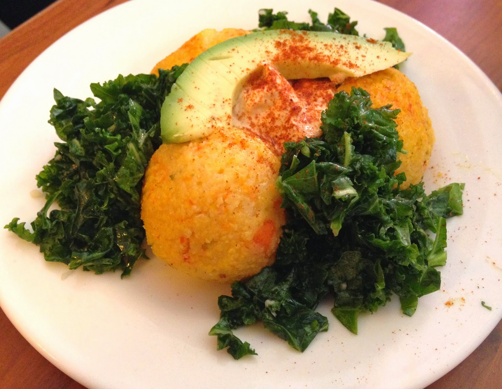 Vegan Polenta Appetizer