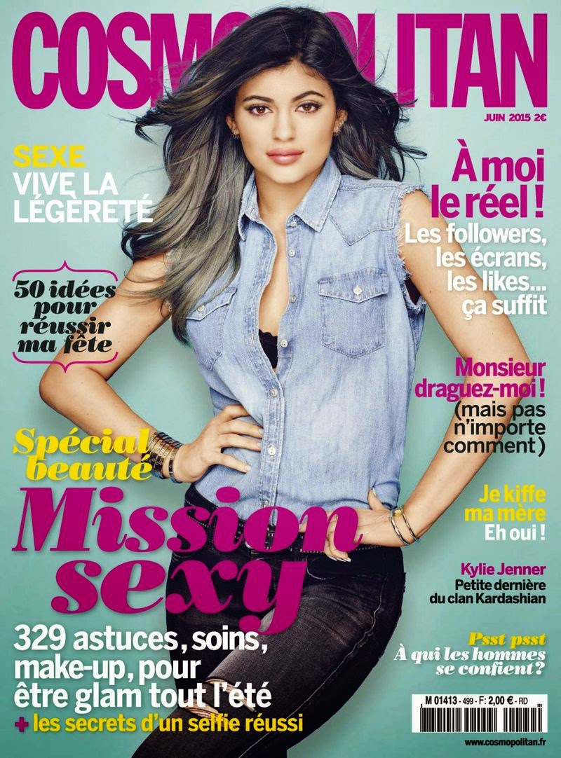 Actress, Model @ Kylie Jenner - Cosmopolitan France, June 2015