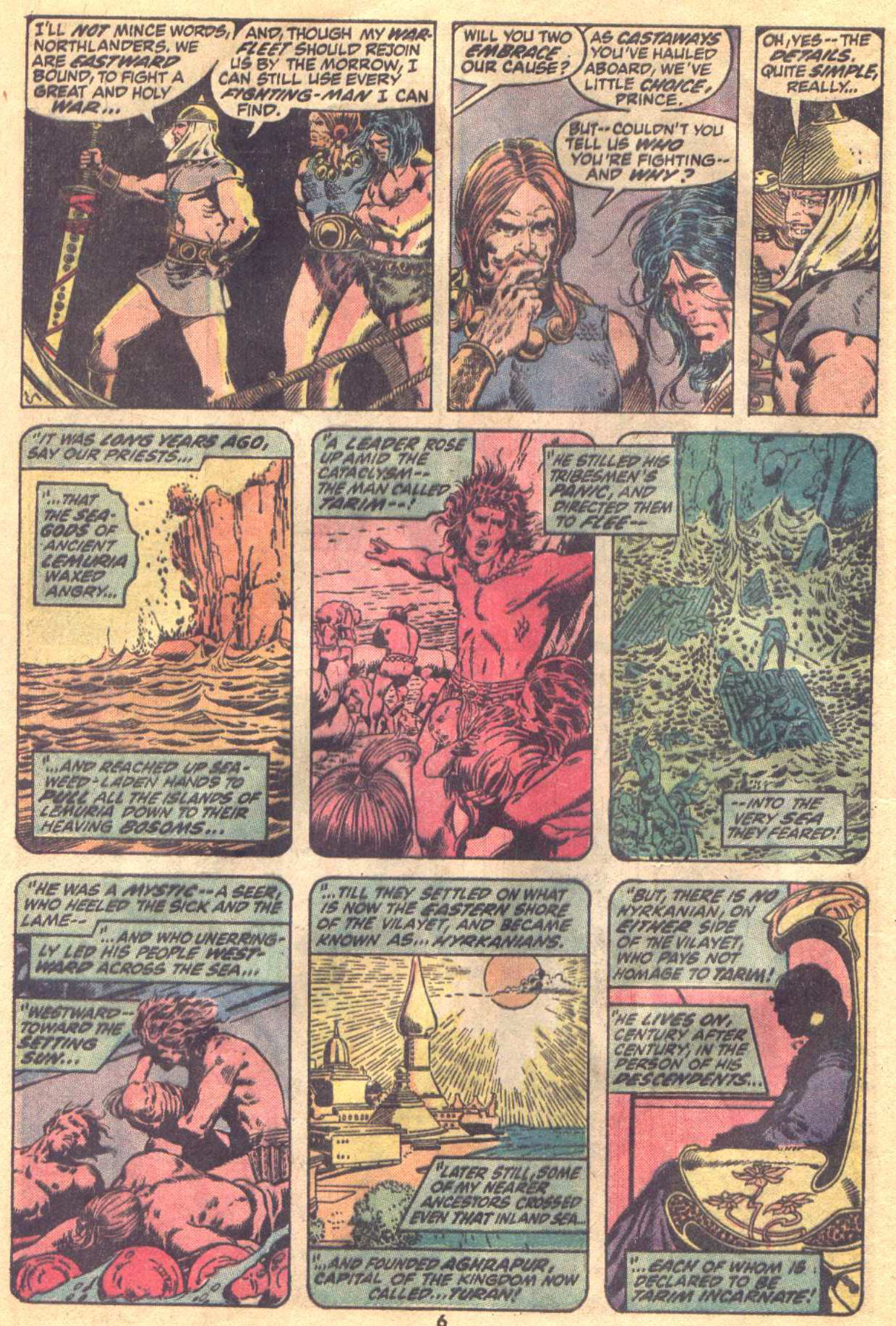 Conan the Barbarian (1970) Issue #19 #31 - English 6