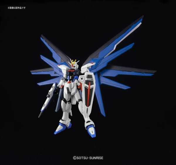 bandai gundam model kit freedom revive