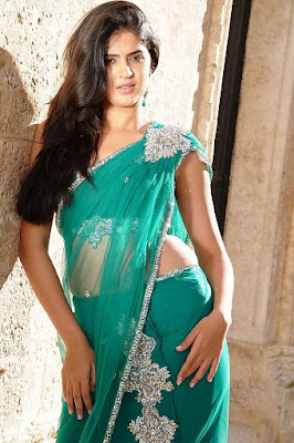 Deeksha Seth in Saree