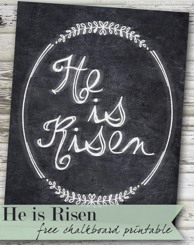 This is an image of Mesmerizing He is Risen Printable