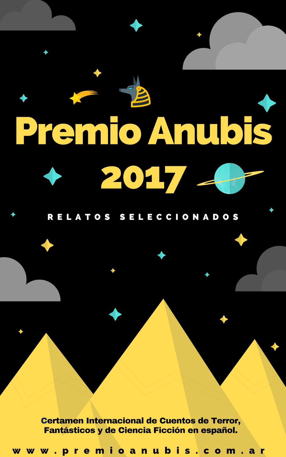 Antología Premio Anubis 2017