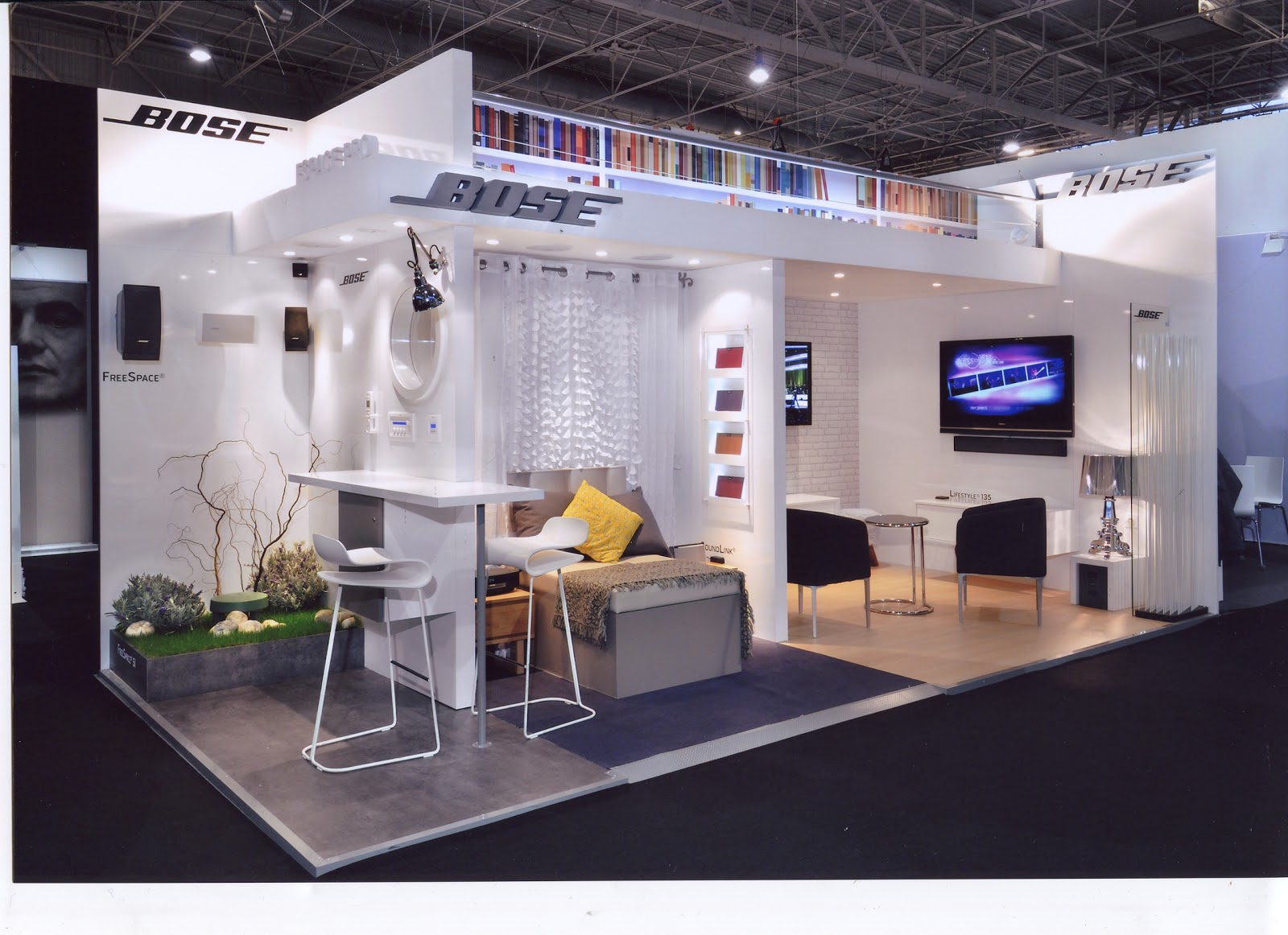design de l 39 v nement stand bose salon maison objet. Black Bedroom Furniture Sets. Home Design Ideas