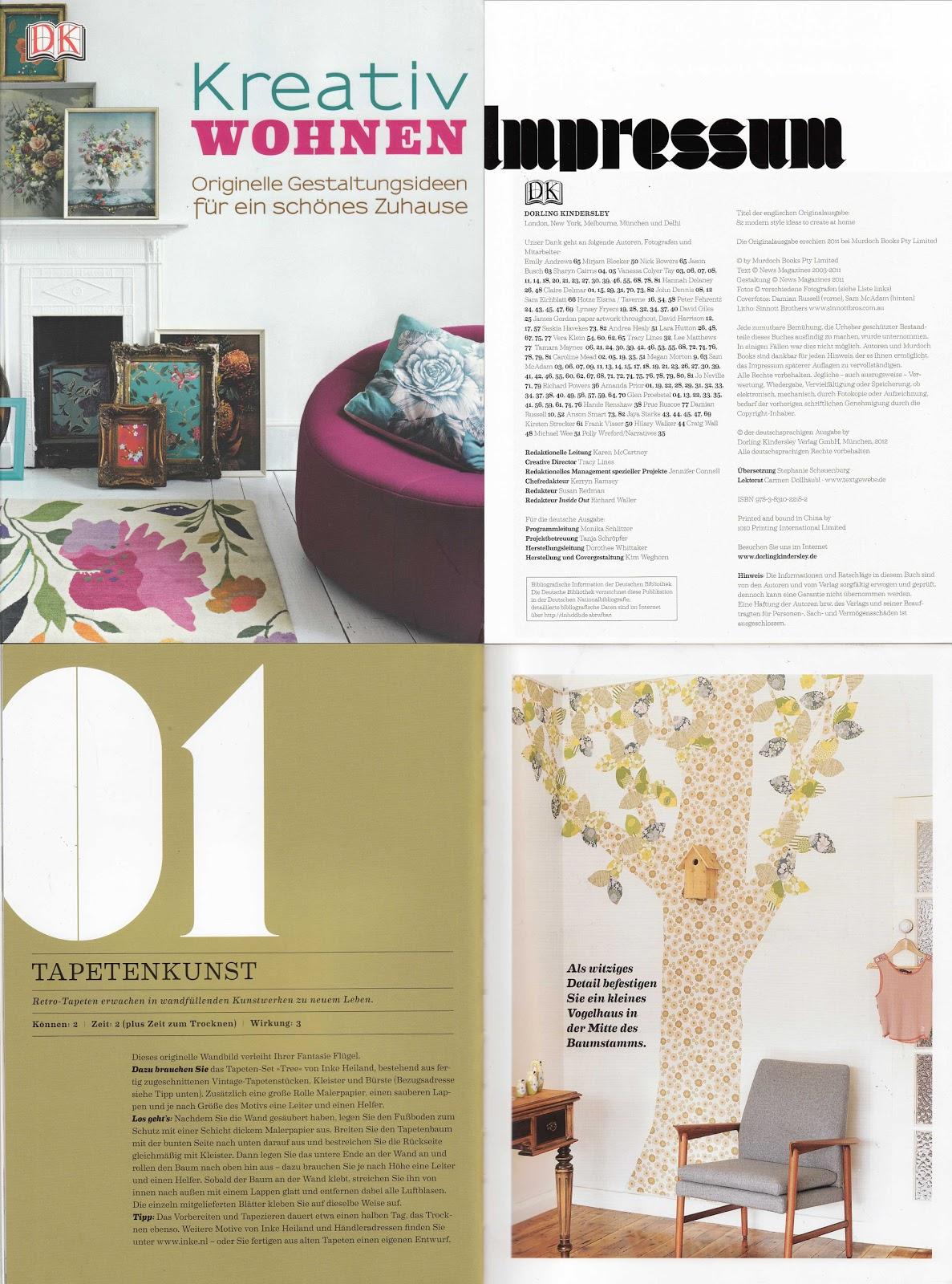 Inke blog kreativ wohnen d 2012 for Wohnen kreativ
