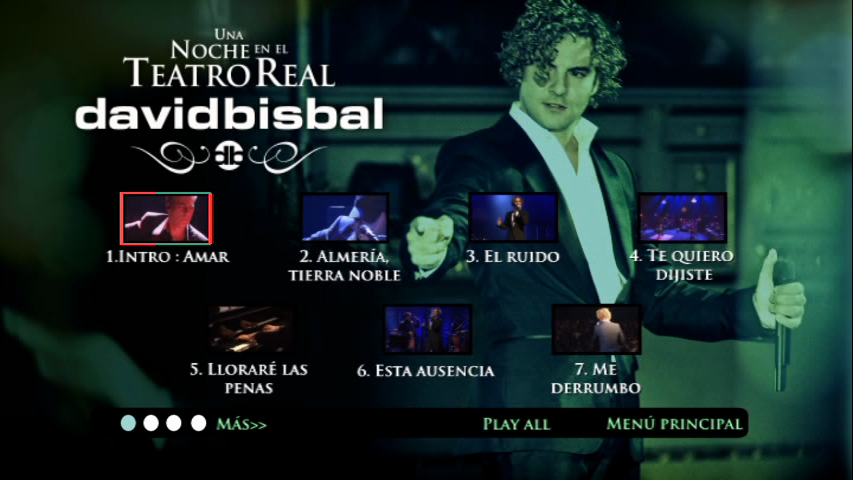 David Bisbal - Una Noche en el Teatro Real 2011 Acustico (DVDR NTSC)