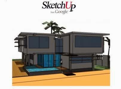 Software Desain Rumah SketchUp