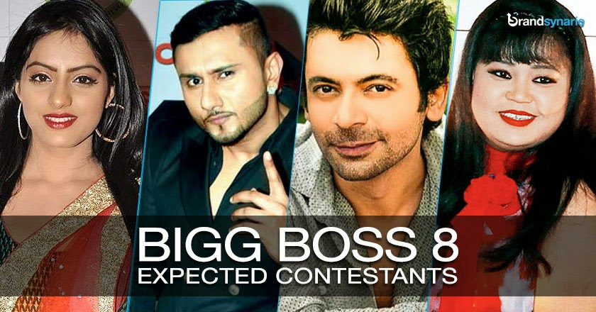 Bigg Boss 8 Contestants List 2014