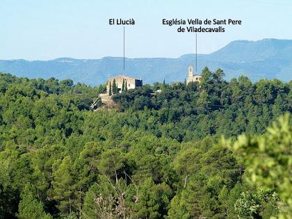 Panoràmica de l'antic poble de Sant Pere de Viladecavalls