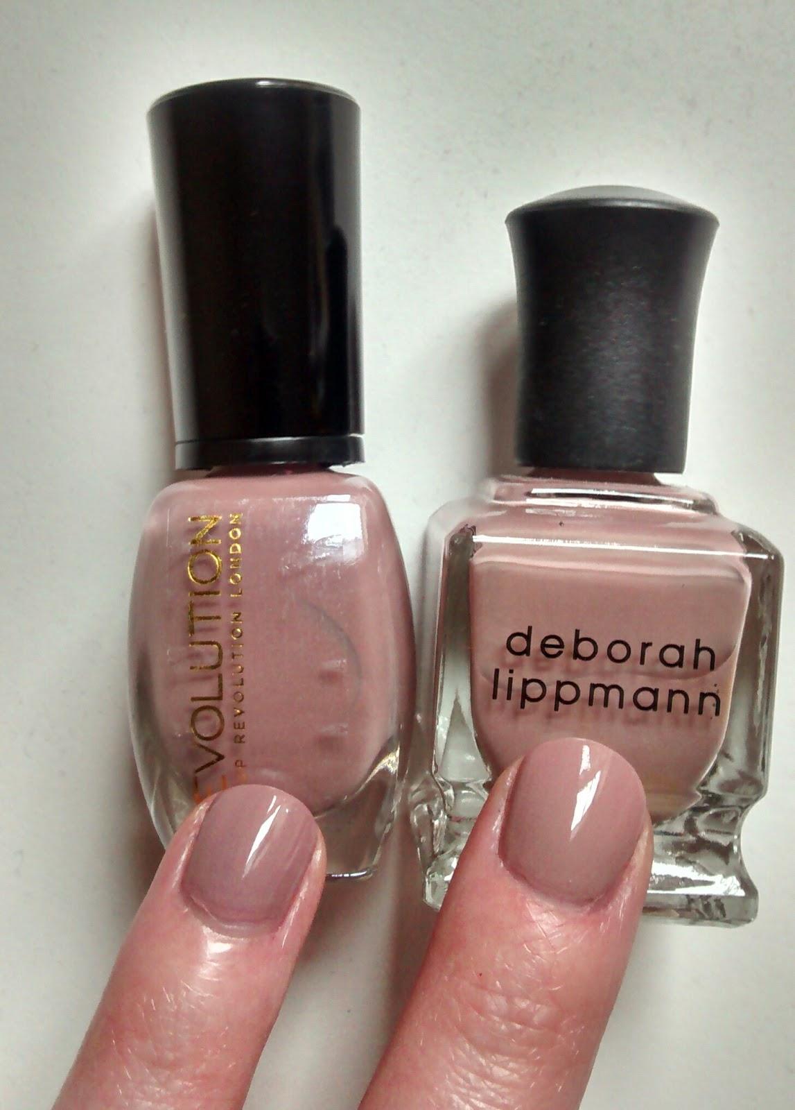 The Lardy Grub: Makeup Revolution £1 Deborah Lippmann Dupe!