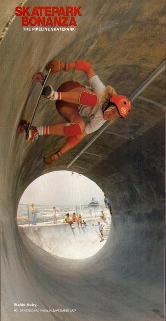 Waldo Autry Skateboaed World