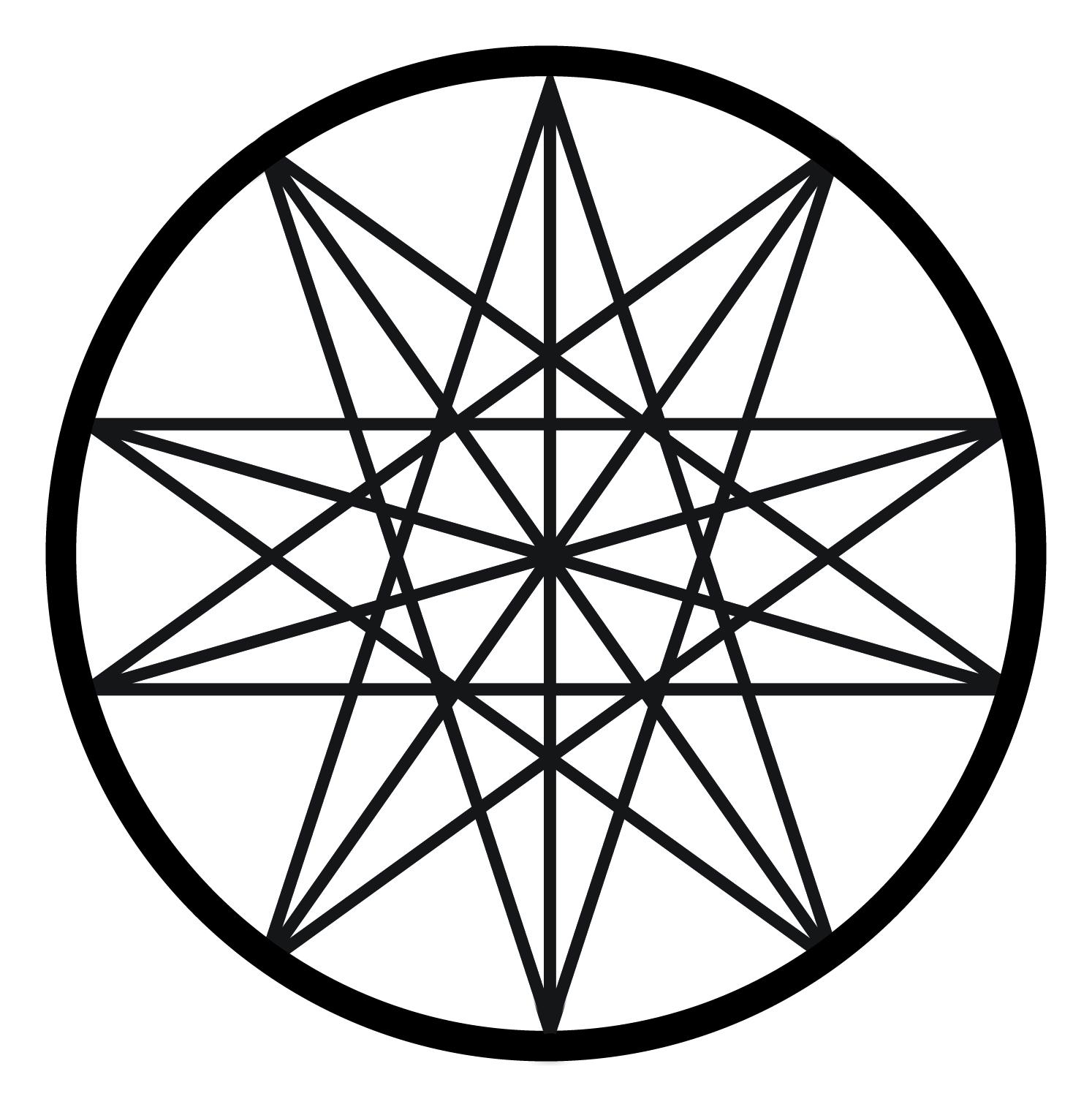 Iva kenaz magic symbols enneagram in nonagon buycottarizona Image collections