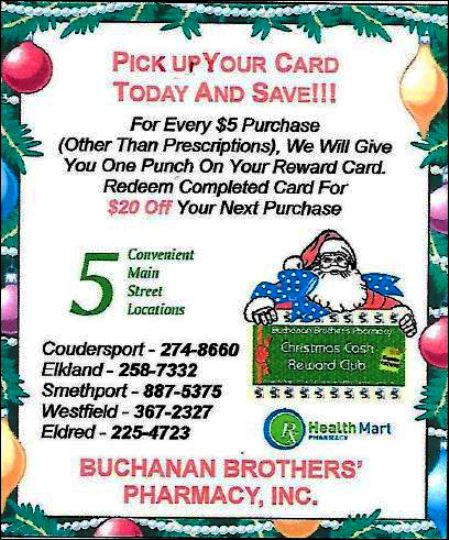 Buchanan Brothers Pharmacy Inc.