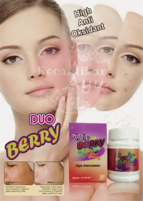Duo Berry Suplemen Pelangsing dan Pemitih Tubuh