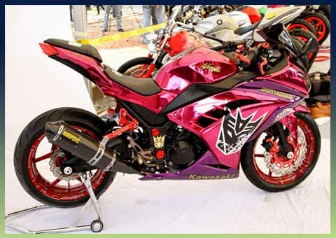 Foto Motor Ninja 250 R