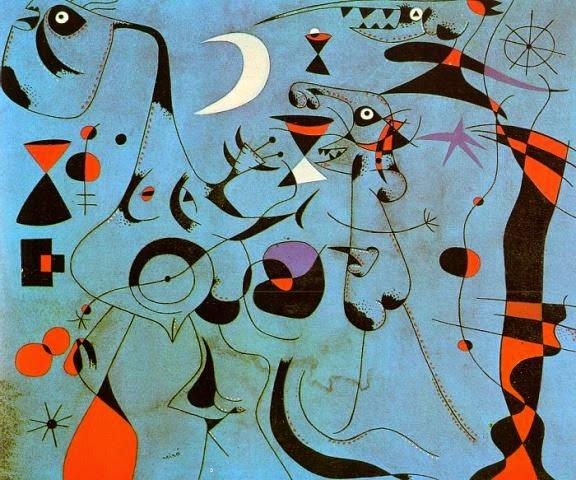 Arteeblog: Série Joan Miró: Constelações