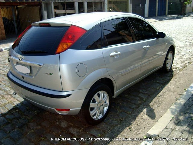 Ford Focus Hatch 2009 GLX 1.6 Flex - traseira